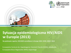 HIV AIDS surveillance report 2013