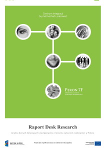 Raport Desk Research
