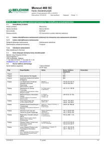 SDS EU (Reach Annex II) - Belchim Crop Protection