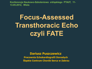 Focus-Assessed Transthoracic Echo czyli FATE