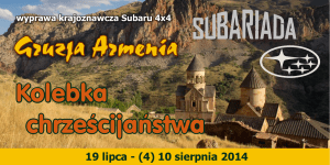 Program Gruzja Armenia Subariada