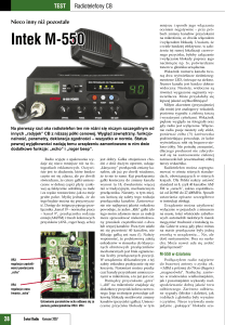 Intek M-550 - cbradio.pl