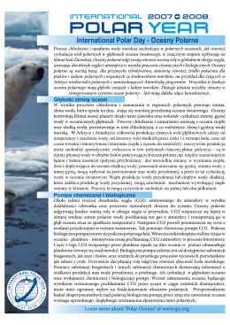 International Polar Day - Oceany Polarne