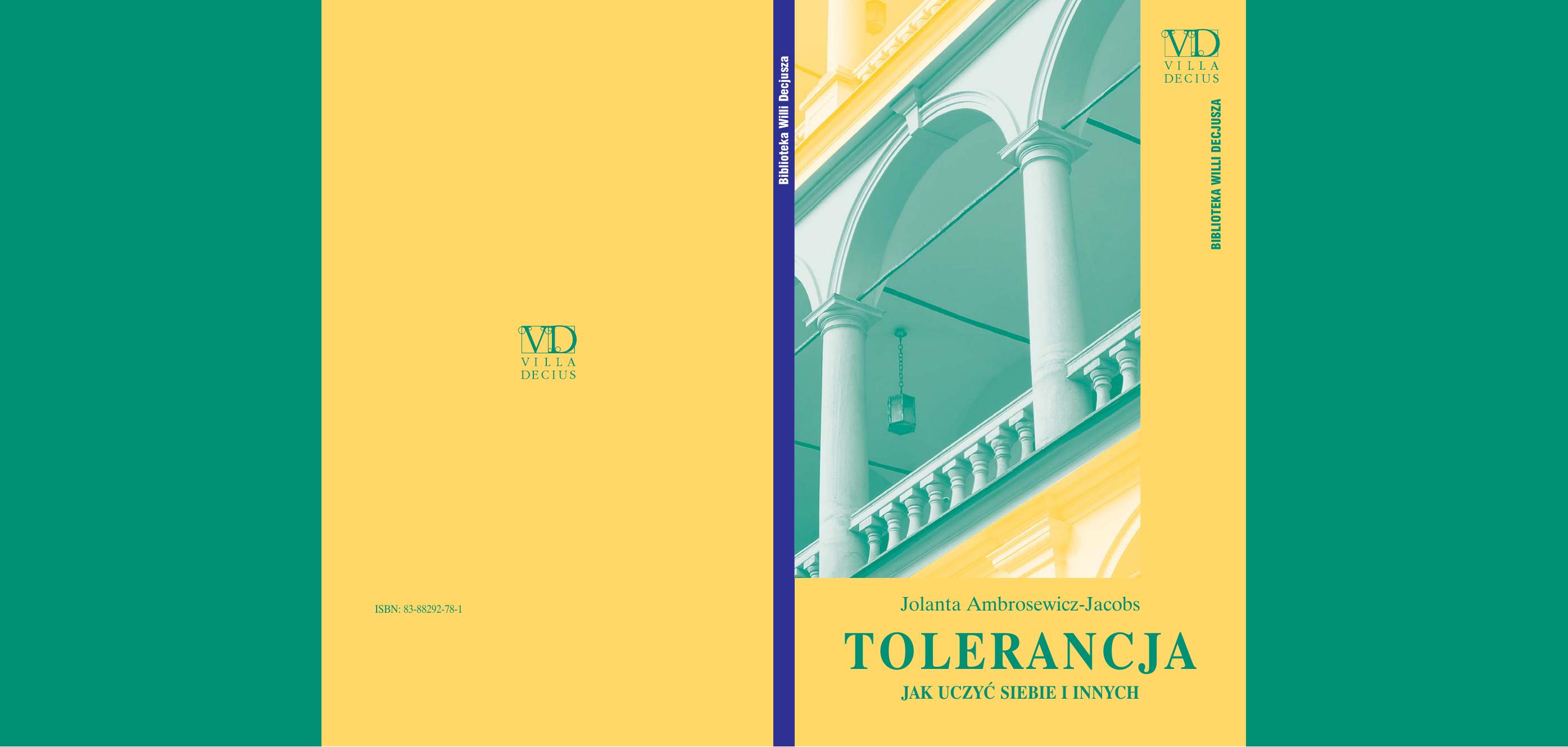Tolerancja Bez Uprzedzeń
