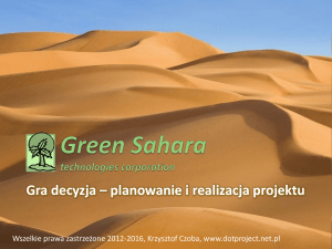 Green Sahara technologies corporation
