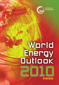 World Energy Outlook - International Energy Agency