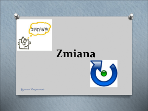 Zmiana - WordPress.com