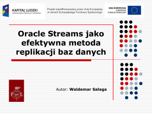 Co to jest Oracle Streams?