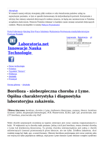 Borelioza - Laboratoria.net