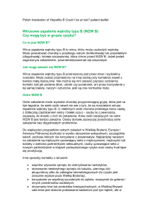 Draft Hepatitis B leaflet v 2 July