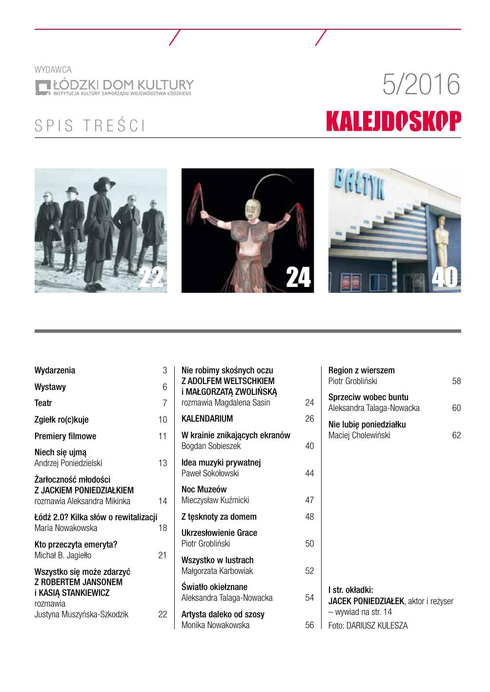 a480661cbae3d czytaj online MAJ - Kalejdoskop kulturalny