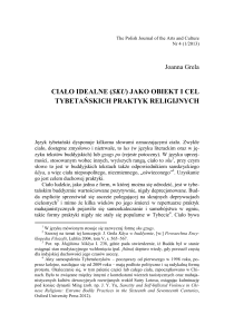 Joanna Grela Ciało idealne - The Polish Journal of the Arts and
