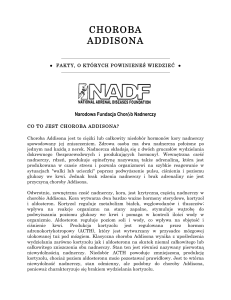 choroba addisona - National Adrenal Diseases Foundation