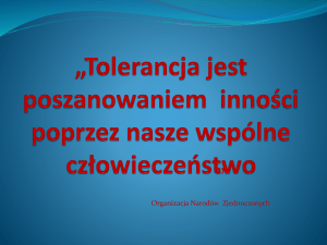 Co to jest tolerancja?