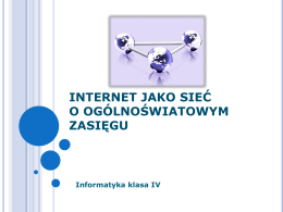 Internet - Superszkolna.pl