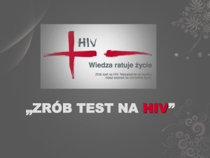 ZRÓB TEST NA HIV