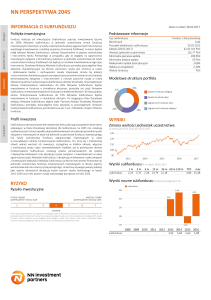 NN Perspektywa 2045 - NN Investment Partners TFI S.A.