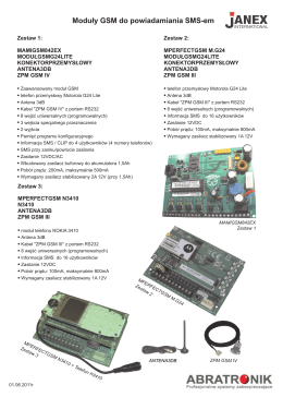 karta GSM.cdr - Agat Security
