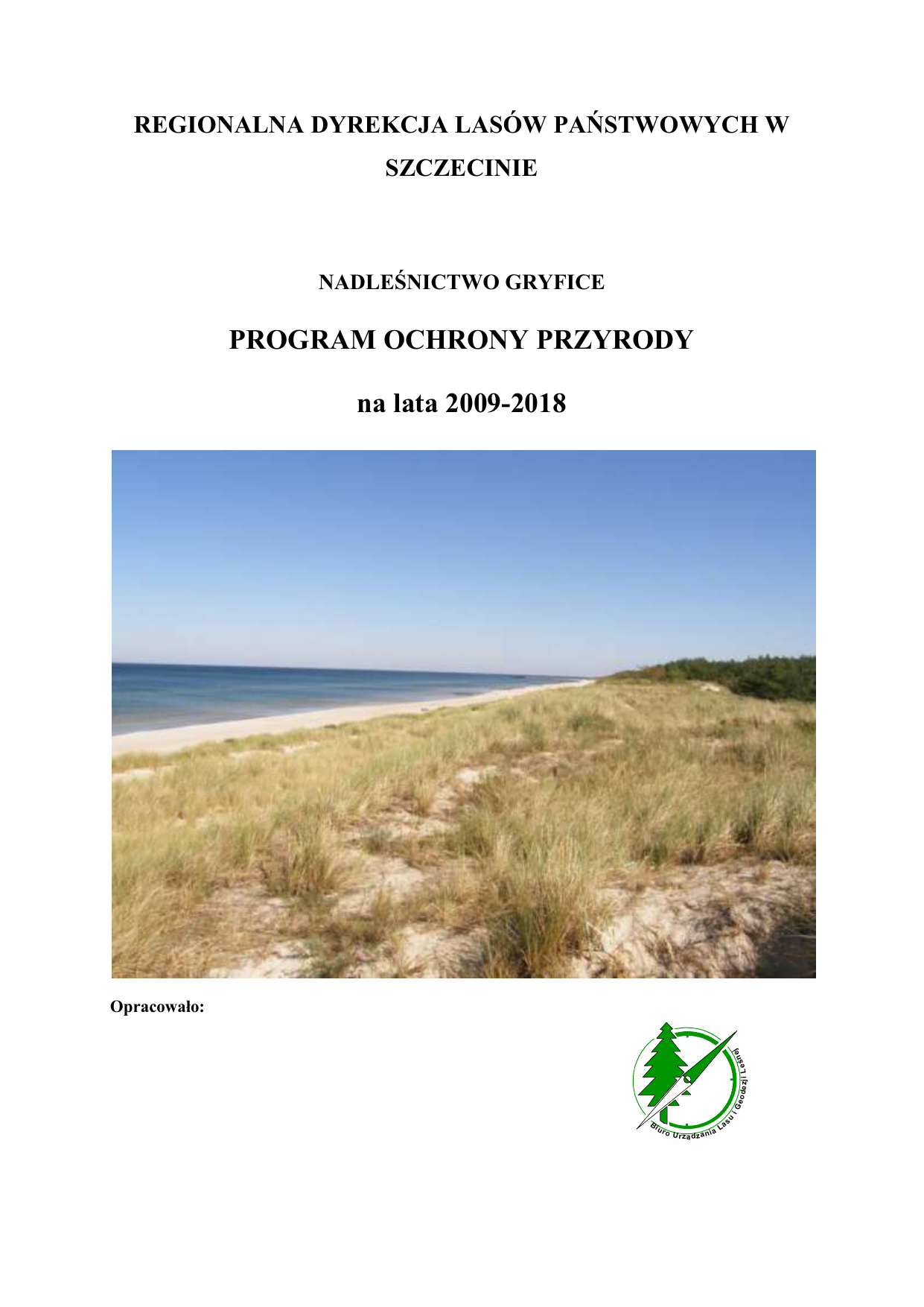 ba322eb7fab150 PROGRAM OCHRONY PRZYRODY na lata 2009-2018