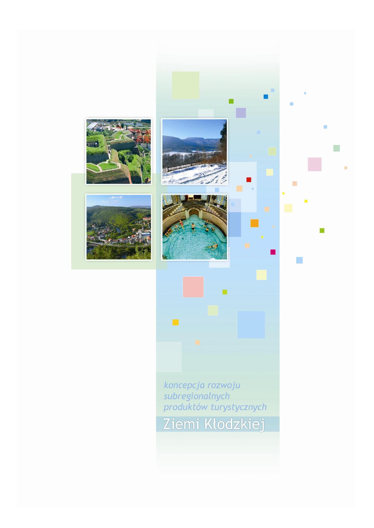 Koncepcja Rozwoju Subregionalnych Produktów Turystycznych