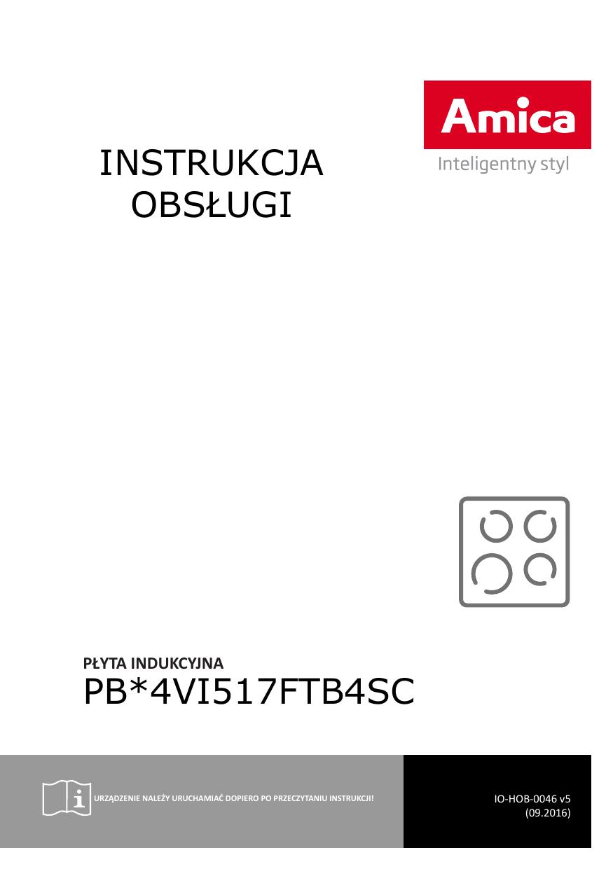 Instrukcja Obsługi Pb4vi517ftb4sc