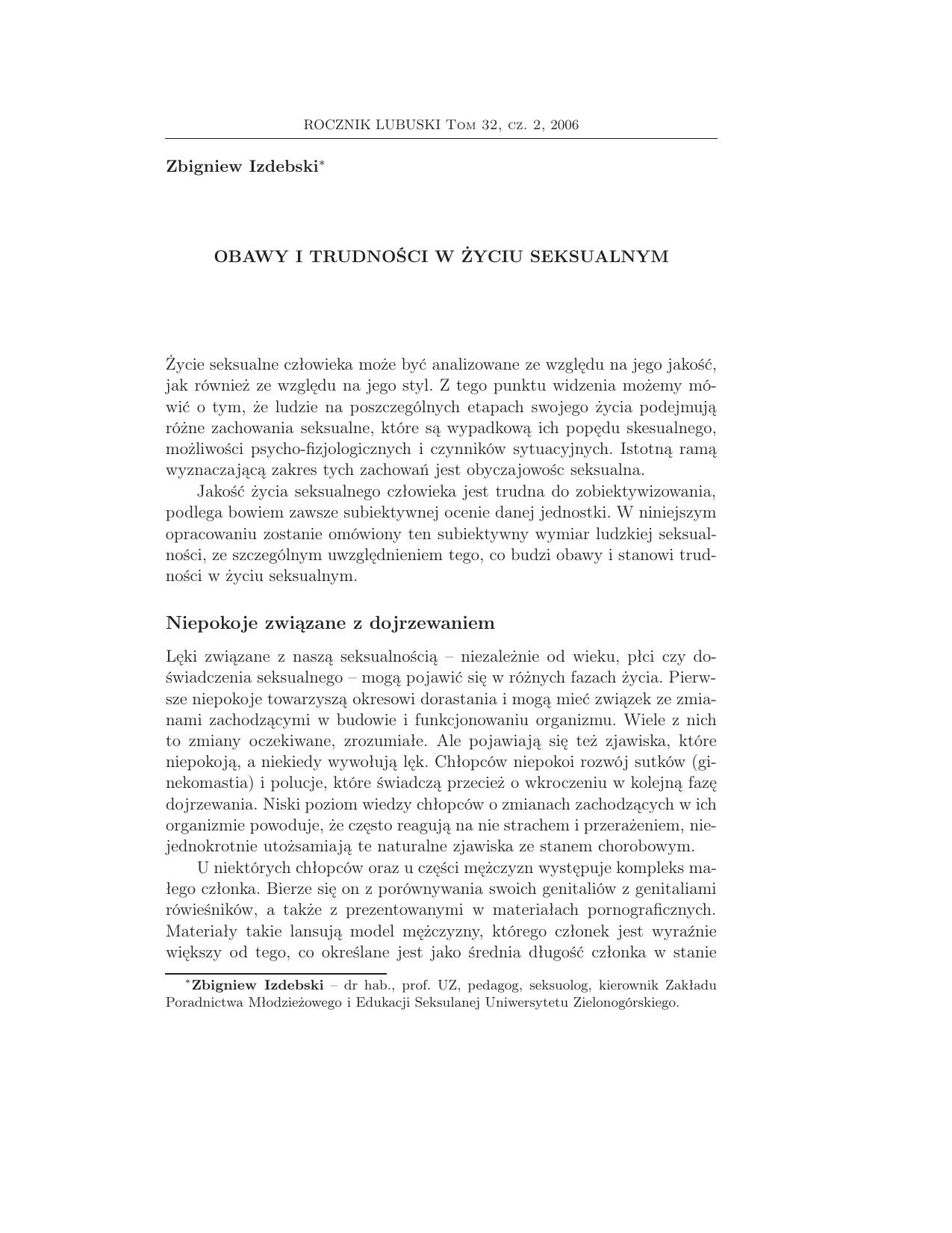 Przedwczesny wytrysk - leczenie psychologiczne | PROPSYCHE
