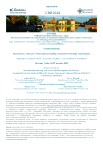 Call for Papers - Kozminski University