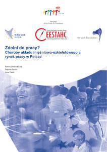 Zdolni do pracy? - Fit for Work Europe