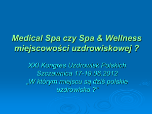 Medical Spa Uzdrowisko