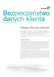 Seagate Recovery Services™
