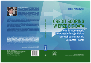 credit scoring w erze big-data