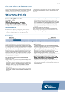UniAktywa Polskie - Union Investment