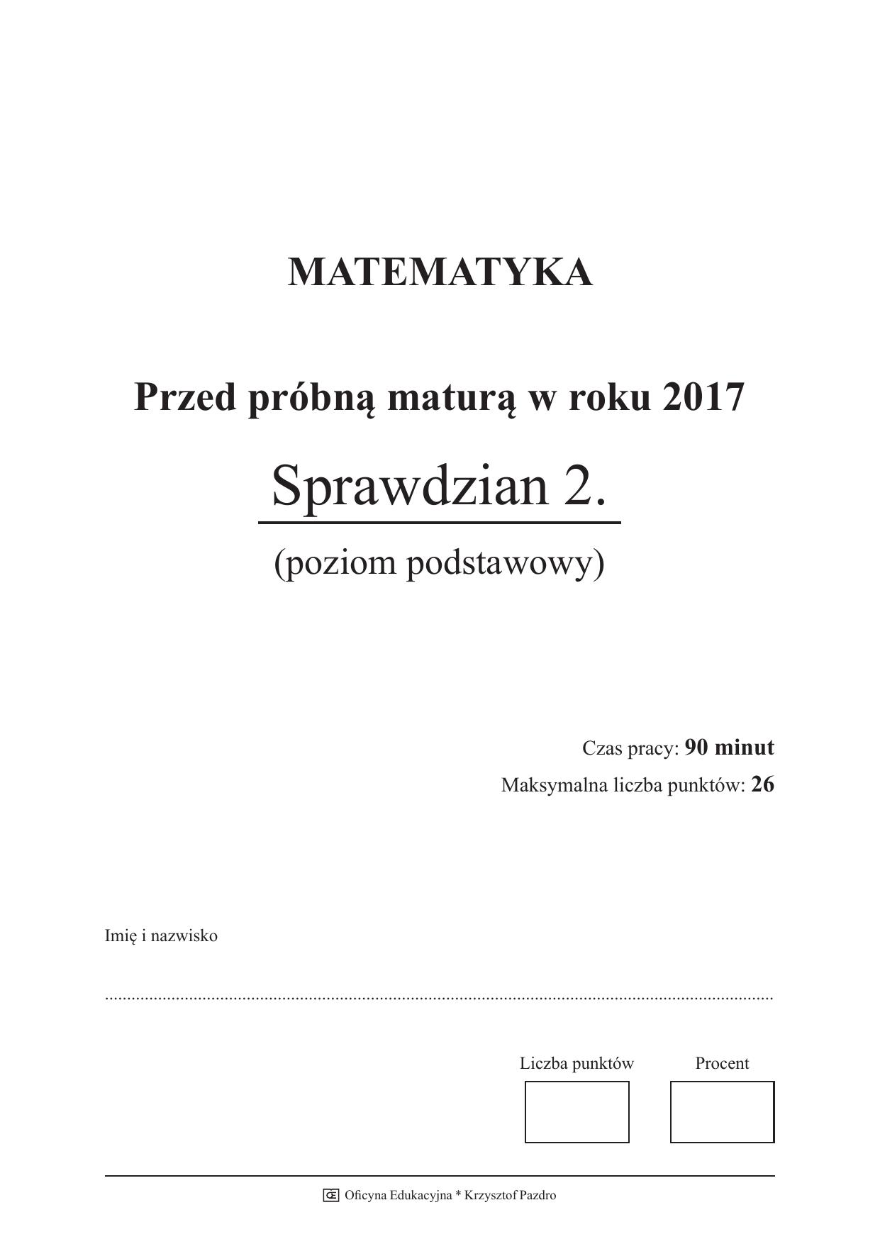 matematyka matura 2011 odpowiedzi