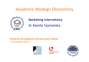 AME_3_Marketing internetowy_Kamila Szymańska