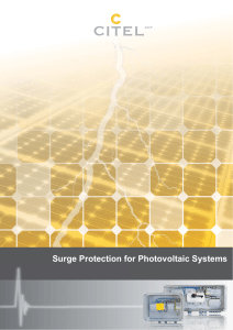 PhotoVoltaic General Catalog