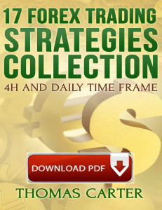 Forex Trading Strategies PDF Free Download Collection by Thomas Capter
