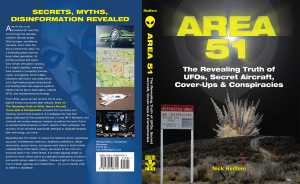 Area 51 The Revealing Truth of UFOs, Secret Aircraft, Cover-Ups & Conspiracies